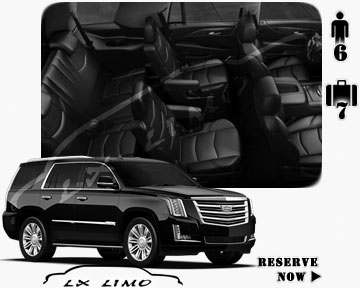 SUV Escalade for hire in Buffalo, NY
