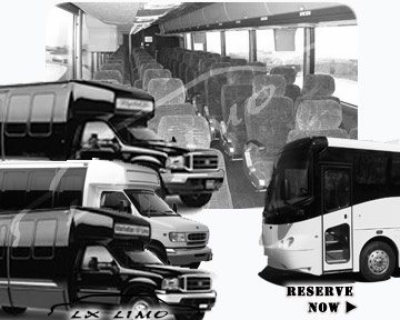 Buffalo Bus rental 36 passenger