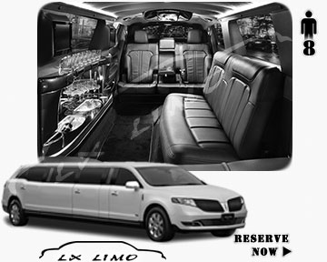 Stretch Limo for hire in Buffalo