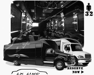 Buffalo Party Limo Bus rental